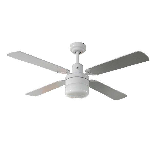 Fias tash 48 inch ceiling fan with light white fias lighting fias tash 48 inch ceiling fan with light white aloadofball Images