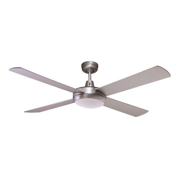 Fias rotor 52 inch led ceiling fan brushed aluminium with 24w led fias rotor 52 inch led ceiling fan brushed aluminium with 24w led light aloadofball Gallery