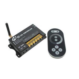 Touch Fade Black Remote Control Single Color - 2.4GRC