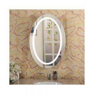 LED Oval Shape Mirror Light 75x60cm - MIR1006