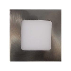 LED Square Step Light 316 Stainless Steel - LEDSTP316SQR