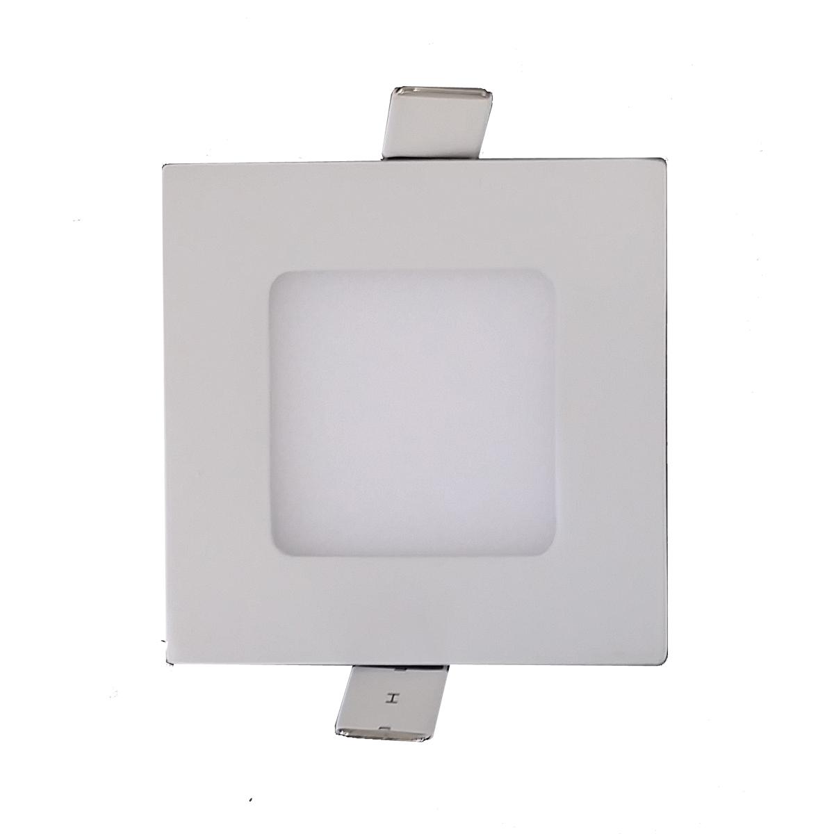LED Square Step Light White - LEDSTPWHSQR