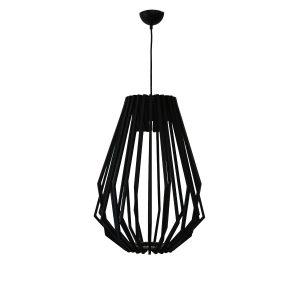 Web 400 Black Pendant Light - P1087WEBBLK