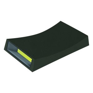 Curve LED Outdoor Black Up and down Wall Light - EXTLED1004