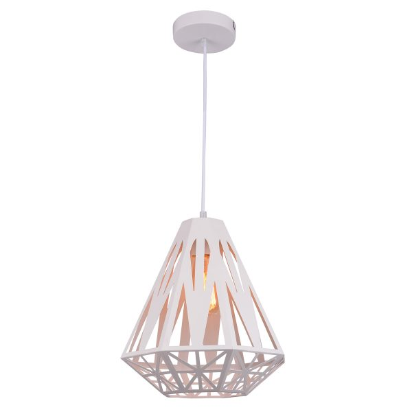 Inaya White Pendant Light