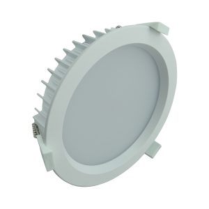 LED Round Shop Light 35w Dimm PW - LEDSHP35WPW300MM