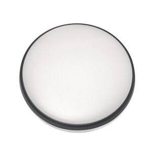 Round 18W LED Ceiling Light - Black Frame in Cool White - LEDOYS18WRNDBLCW
