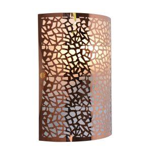 Zay Rose Gold Wall Light