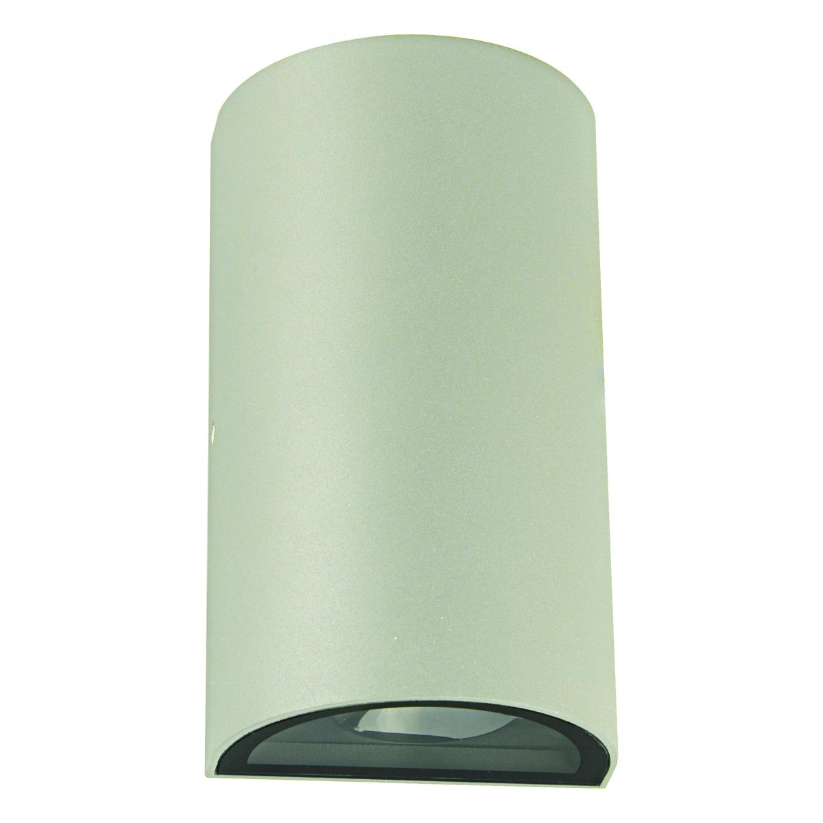 Zimbo Round LED Integrated External Light White